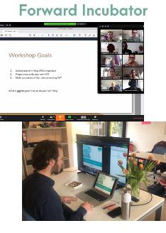 Forward Incubator's digitale transformatie: Tim Leijten, finance en belastingsexpert geeft een workshop over btw-aangifte