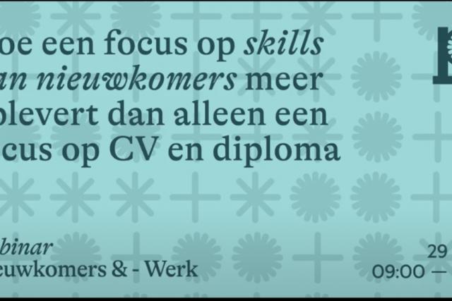 Focus op Skills webinar