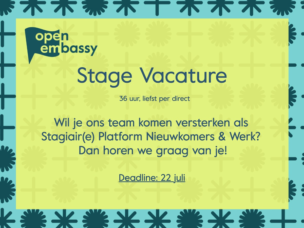 Vacature_Stagiaire_Platform