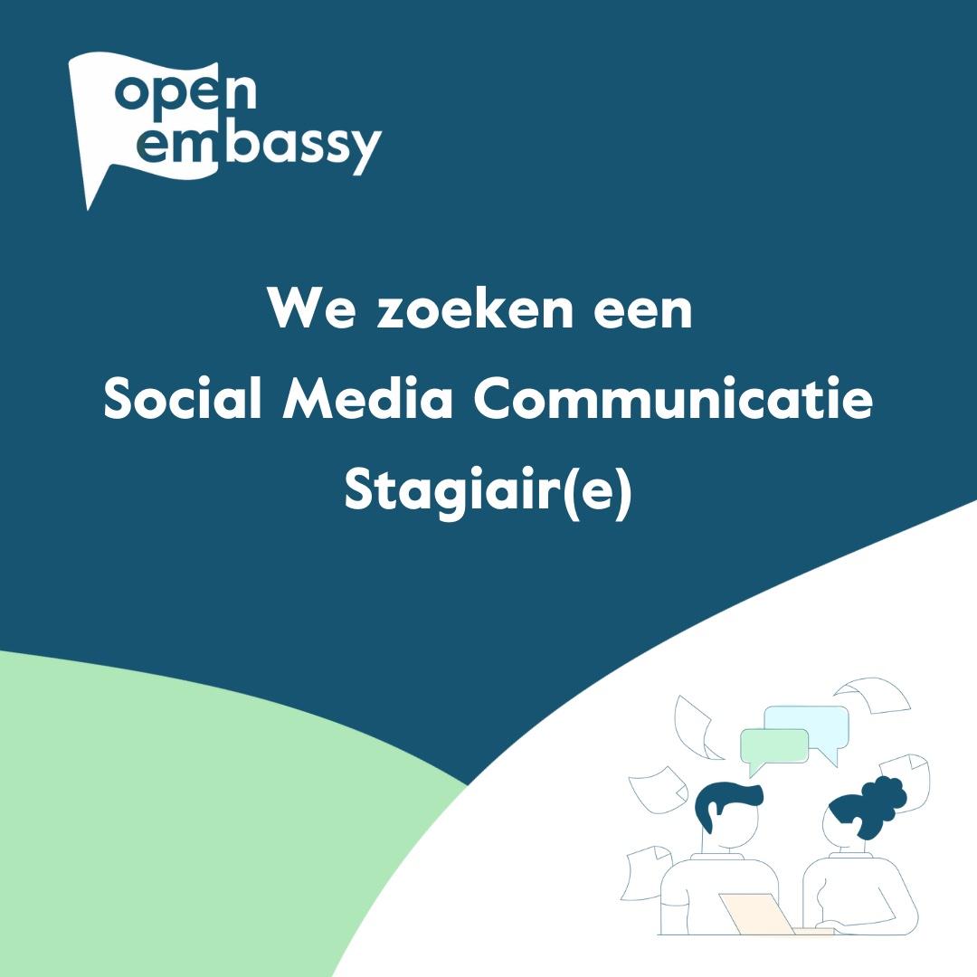 Social Media Communicatie Stagiair(e)